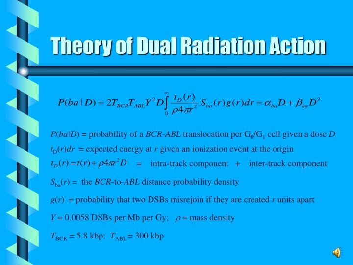 Theory of Dual Radiation Action