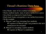 thread s runtime data area1