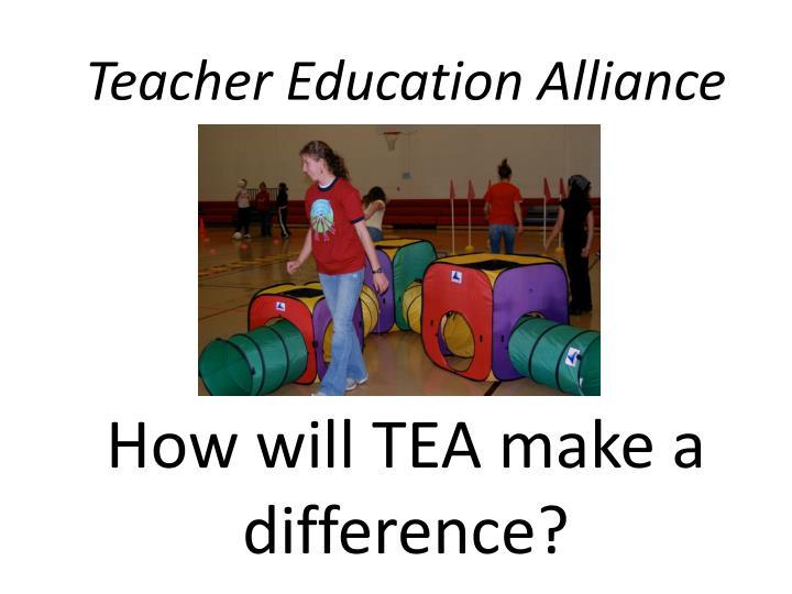 Teacher Education Alliance