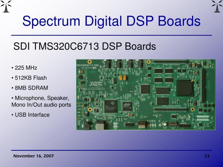 Spectrum Digital DSP Boards