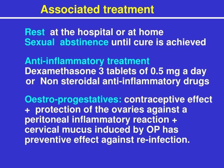 Associated treatment
