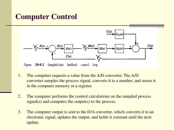 Computer control