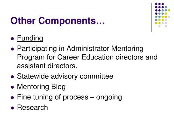Other Components…