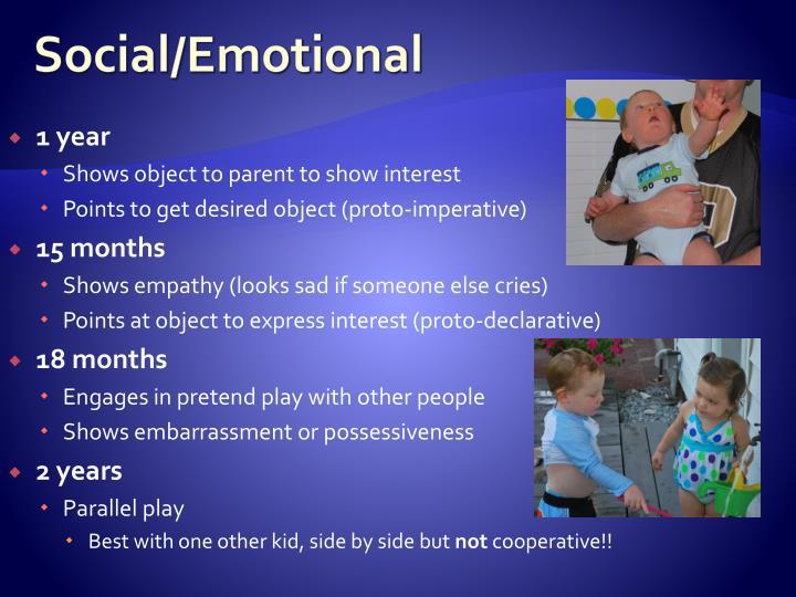 Social/Emotional