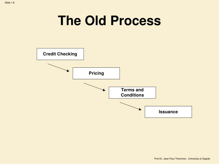 The Old Process
