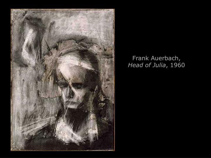 Frank Auerbach,