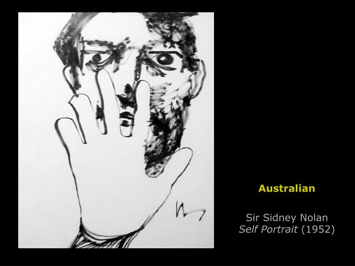 Sir Sidney Nolan