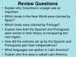 review questions2