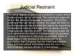 judicial restraint2