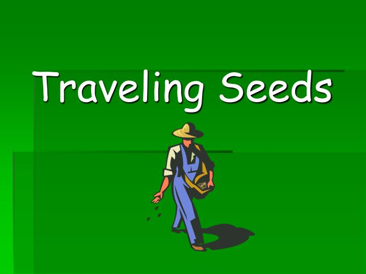 traveling seeds