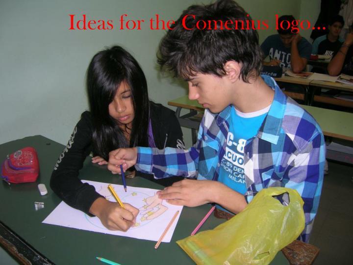 Ideas for the Comenius logo…