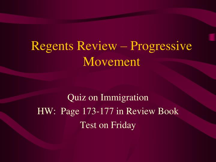 essay on progressive movement The period from 1890 to 1917 in the history of united states is known as progressive era this period is marked by an all-encompassing and intensive change in all spheres of american life viz political, economic and social.