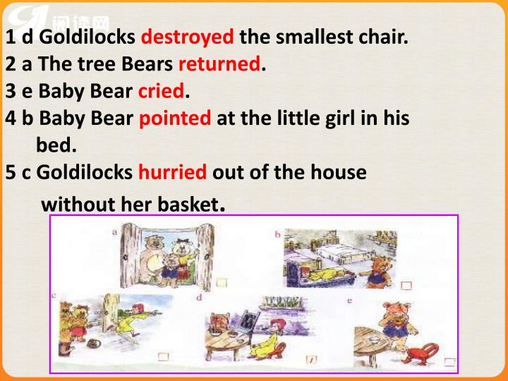 1 d Goldilocks