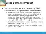 gross domestic product13