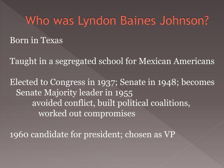 Who was lyndon baines johnson