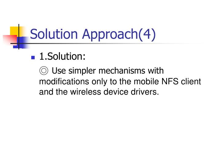 Solution Approach(4)