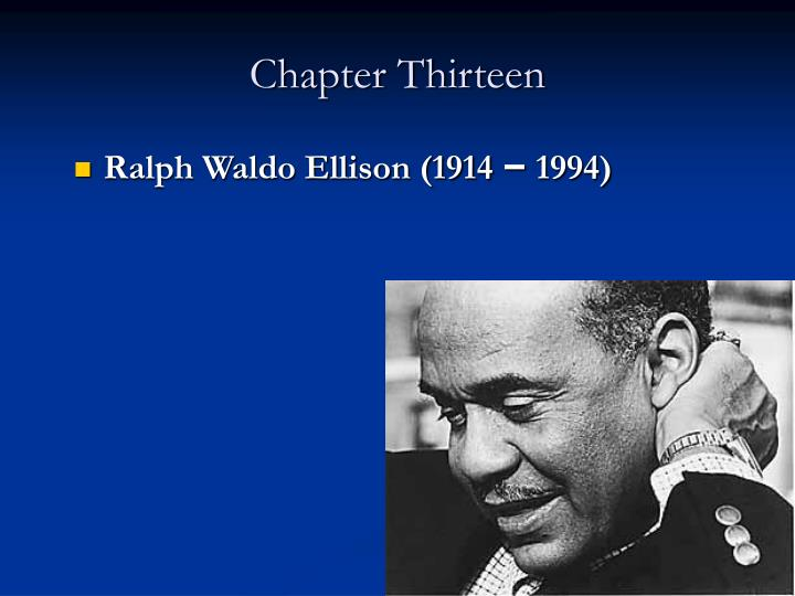 ralph waldo ellison critical essay Ralph ellison 5,227 likes ralph waldo ellison was an american novelist, literary critic, and scholar ellison is best known for his novel invisible.