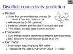 disulfide connectivity prediction1