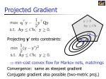 projected gradient
