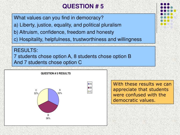 QUESTION # 5