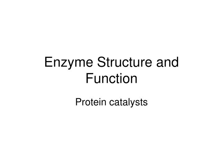 scientific paper about enzymes 1 candace s randolph misep cohort 2 chemistry 512 enzyme catalysis lab report pre-lab questions: 1 write a balanced chemical equation with state symbols for.