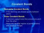 covalent bonds1