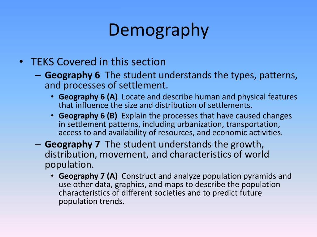 PPT - Mastering the TEKS for the World Geography EOC PowerPoint