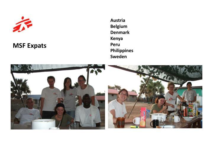 MSF Expats