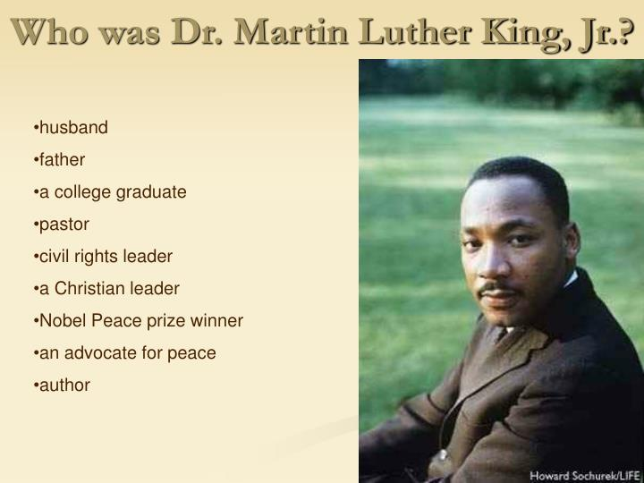 Ppt Let S Meet Martin Luther King Jr Powerpoint Presentation