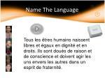 name the language3