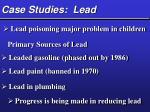 case studies lead