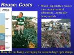 reuse costs