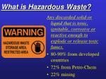 what is hazardous waste