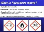 what is hazardous waste1