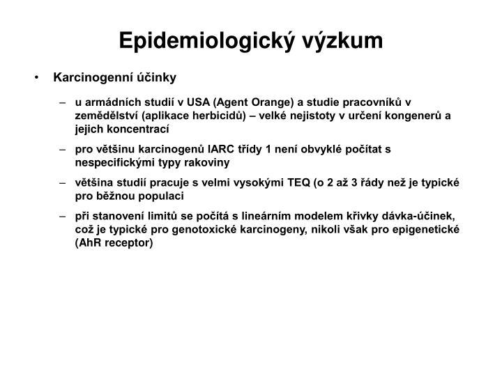 Epidemiologický výzkum