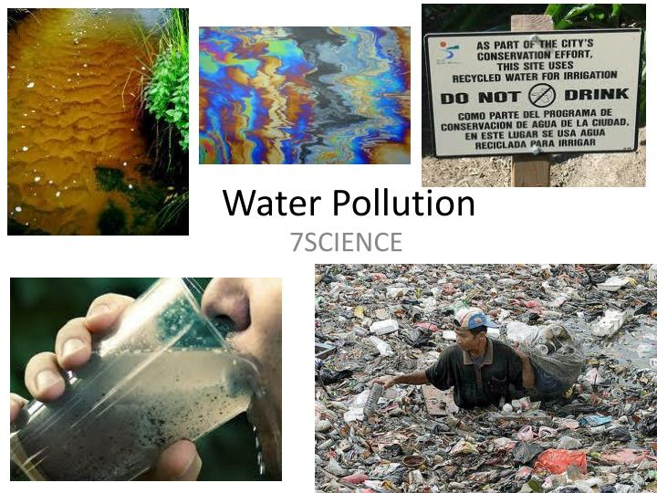 water pollution scope and limitation