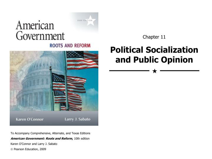 chapter 11 political socialization and public opinion n.