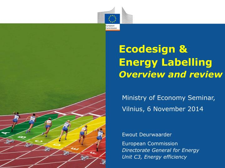 ecodesign energy labelling overview and review n.