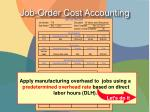 job order cost accounting5