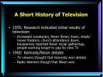 a short history of television1