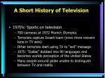 a short history of television3