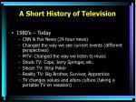 a short history of television4