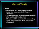 current trends1