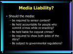 media liability
