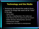 technology and the media1