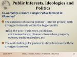 public interests ideologies and politics5