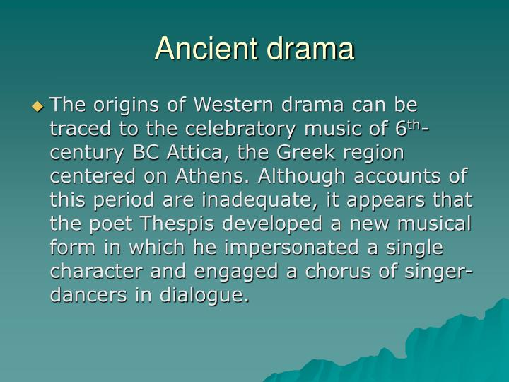 brief history drama Inside, you will find resources about the history and craft of drama and  this fun  resource uses the form of a greek play to provide a brief history of drama.