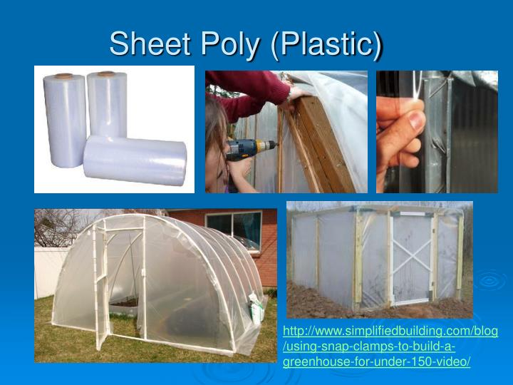 Sheet Poly (Plastic)