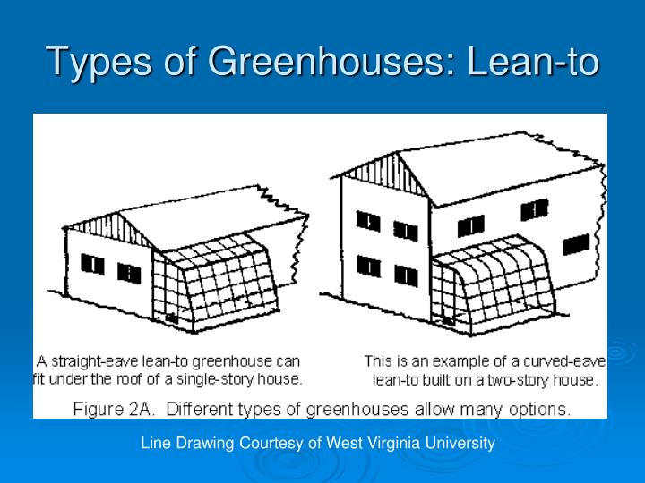 Types of Greenhouses: Lean-to