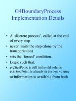 g4boundaryprocess implementation details